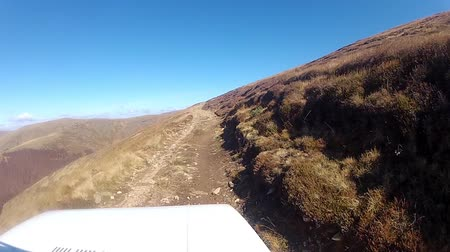 aventura : HD: Rough Rocky Off Road Driving - Stock Video. HD1080p: Car point of view driving on the the rough Australian outback road. Wild Road Trip Adventure in Macedonia