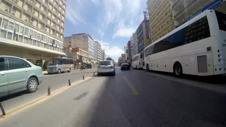 řídit : Timelapse of car drive POV of trafic at Via Egnatia street in Thessaloniki, Greece. 4K UHD stock footage. Dostupné videozáznamy