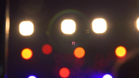 eventos : 4k Defocused luces del escenario y reflectores