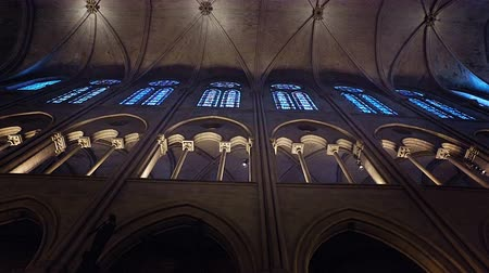 Notre Dame Cathedral, Paris, Interior View