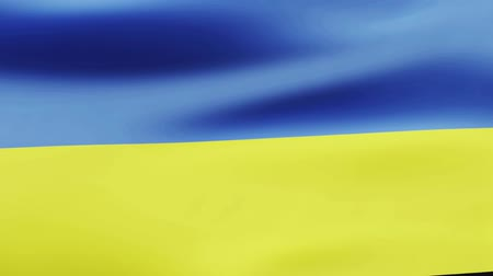 film şeridi : Loop animated flag of Ukraine