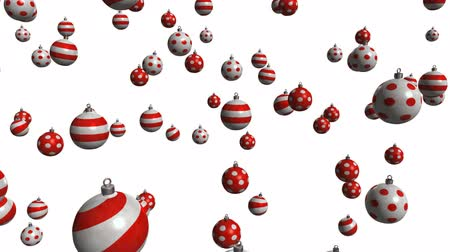 kardan adam : christmas balls with alpha matte