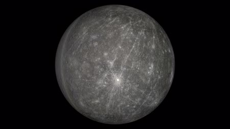 astroloji : mercury Stok Video