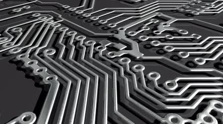 микрочип : abstract close-up of a circuit board