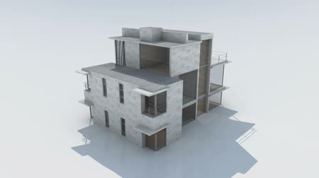 casas : Rendering of a modern house