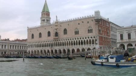 túmulo : San Marco view from Grand Canal, Venice (Italy) Stock Footage