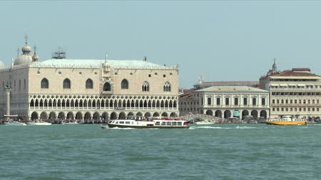 túmulo : Sea view of Doge's Palace, Venice (Italy)