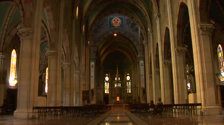 catedral : Interior view of Lissone Cathedral Lissone Italy
