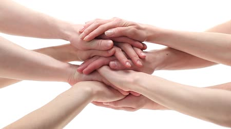 egyesült : Many hands getting together