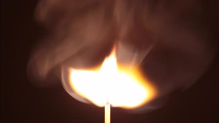 match : burning matchstick