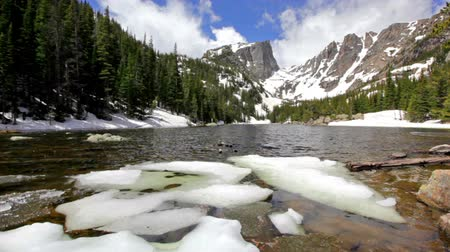 rochoso : Dream Lake at the Rocky Mountain National Park, Colorado, USA Vídeos