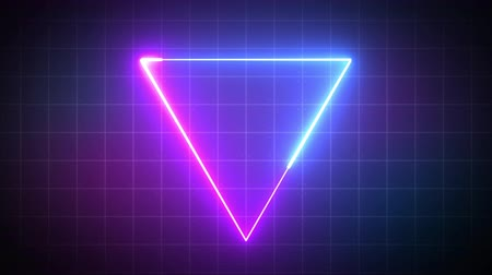 triangle with laser beam, illuminati style, use for background