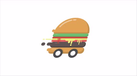 Hi speed hamburger, fast delivery