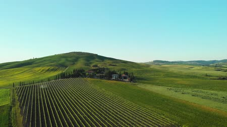 casa de campo : Beautiful landscape in Tuscany, Italy.