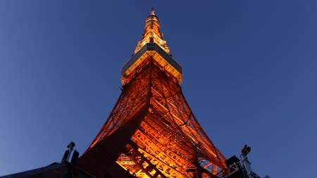 tokio : Tokyo Tower light up at dusk