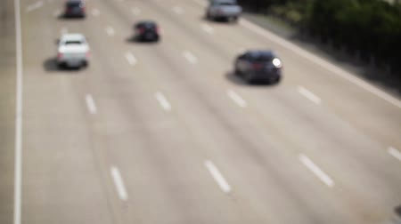 otoyol : Blurred vehicle traffic on the Pacific Motorway, Australia.