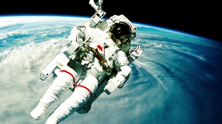 gravidade : Astronaut in outer space