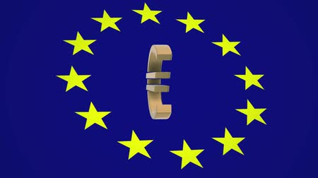the European Union euro money logo